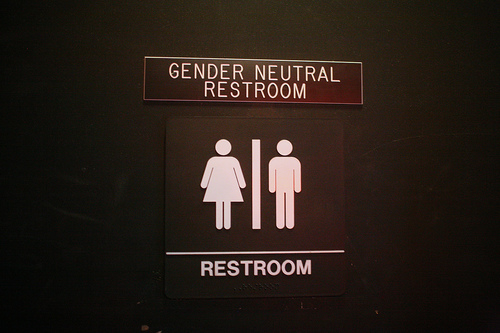gender neutral bathroom 2 He may be young but he knows how to please. young nude canada twink boy